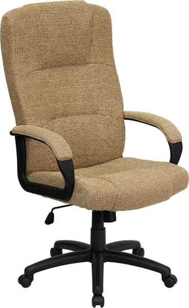 Fabric Steel Wood High Back Executive Office Chairs FLF-BT-9022-GG-VAR