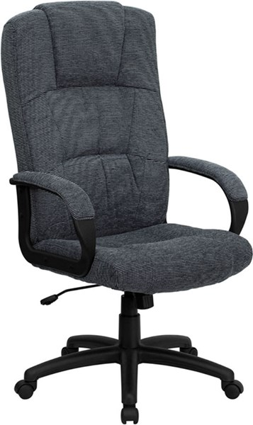 Flash Furniture Gray Fabric High Back Executive Office Chair FLF-BT-9022-BK-GG