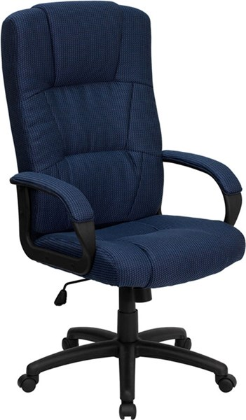 Flash Furniture Navy Fabric High Back Executive Office Chair FLF-BT-9022-BL-GG