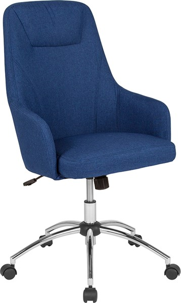 Flash Furniture Rennes Blue Fabric High Back Chair FLF-BT-90509H-BLU-F-GG
