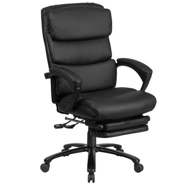 Flash Furniture Black Leather Executive Reclining Swivel Chair FLF-BT-90519H-GG