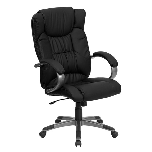 Flash Furniture Black Leather High Back Executive Office Chair FLF-BT-9088-BK-GG