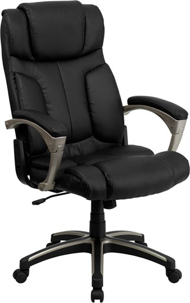 Flash Furniture High Back Folding Black Leather Executive Office Chair FLF-BT-9875H-GG