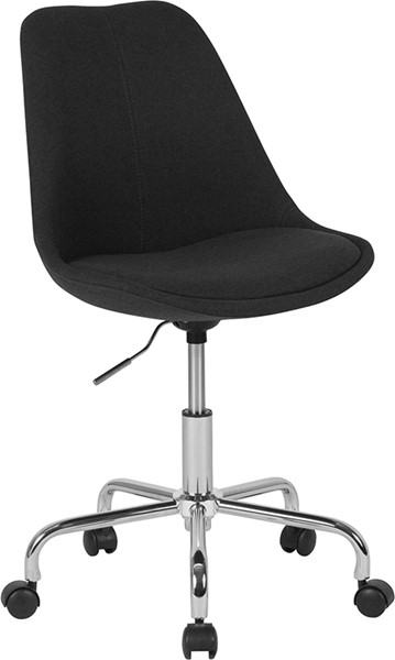 Flash Furniture Aurora Black Task Chair FLF-CH-152783-BK-GG