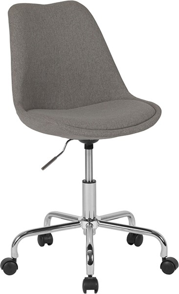 Flash Furniture Aurora Light Gray Task Chair FLF-CH-152783-LTGY-GG
