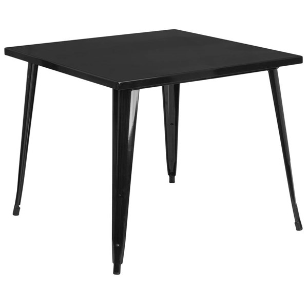Modern Metal Square Top Indoor Outdoor Tables FLF-CH-51050-29-DT-VAR