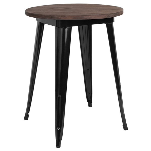 Flash Furniture 24 Round Metal Table FLF-CH-51080-29M1-GG-DT-VAR