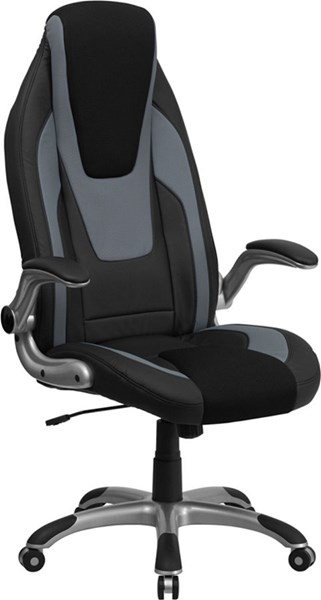 Flash Furniture Gray Black Mesh Executive Office Chair FLF-CH-CX0326H02-GG