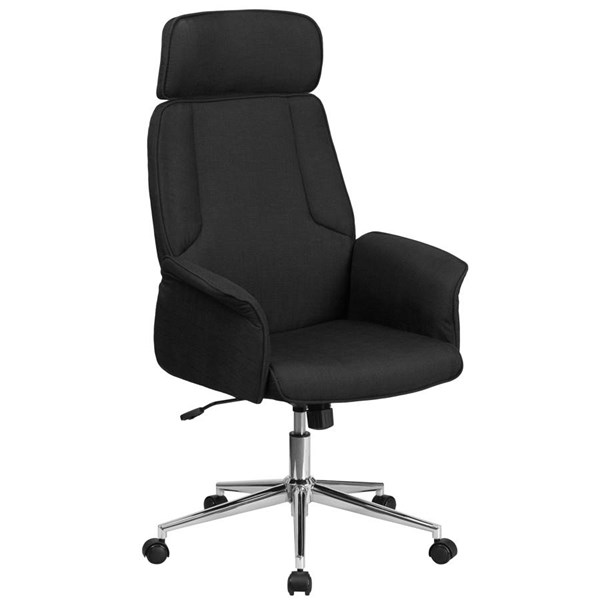 Flash Furniture Fabric Executive Swivel Chairs with Chrome Base FLF-CH-CX0944H-OFF-CH-VAR