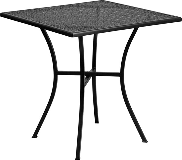 Flash Furniture 28 Square Patio Table FLF-CO-5-GG-OUT-DT-VAR