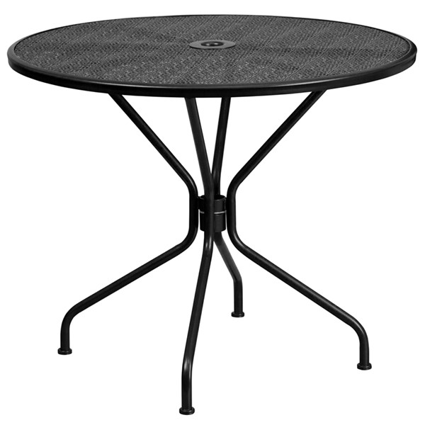 Flash Furniture Round Patio Table FLF-CO-7-GG-OUT-DT-VAR