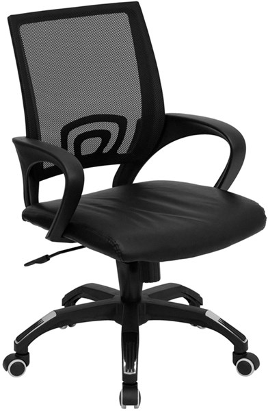 Flash Furniture Mesh Leather Computer Chairs FLF-CP-B176A01-GG-VAR