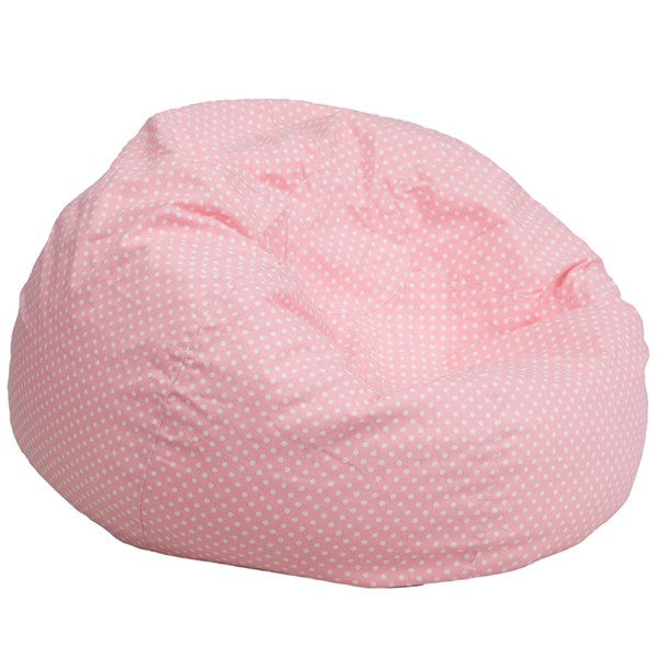 Oversized Dot Bean Bag Chair FLF-DG-BEAN-LARGE-DOT-GG-BEN-CH-VAR