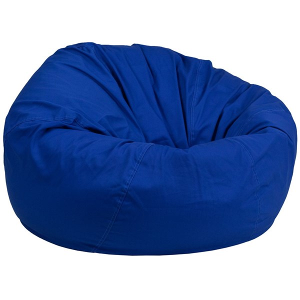 Flash Furniture Royal Blue Bean Bag Chair FLF-DG-BEAN-LARGE-SOLID-ROYBL-GG