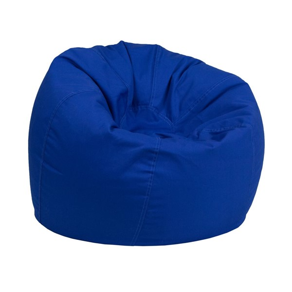Flash Furniture Royal Blue Fabric Bean Bag Chair FLF-DGBEANSML-SLDROYBLGG
