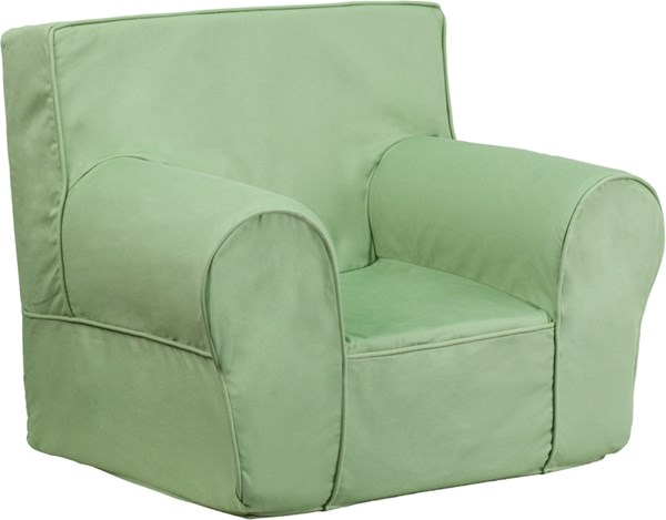 Small Solid Green Kids Chair FLF-DG-CH-KID-SOLID-GRN-GG