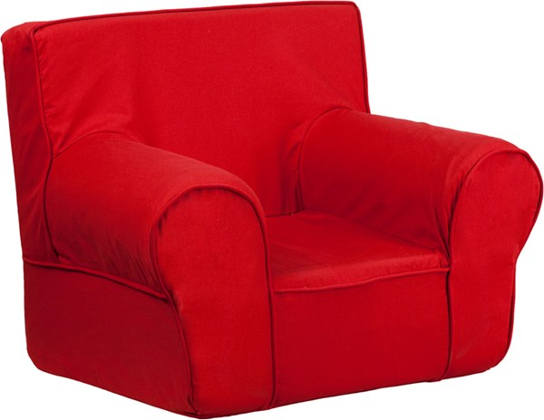 Small Solid Red Kids Chair FLF-DG-CH-KID-SOLID-RED-GG