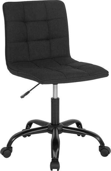 Flash Furniture Sorrento Black Fabric Task Chair FLF-DS-512C-BLK-F-GG