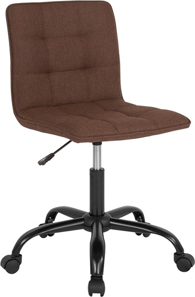 Flash Furniture Sorrento Brown Fabric Task Chair FLF-DS-512C-BRN-F-GG