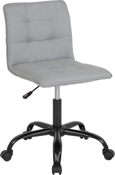 Flash Furniture Sorrento Light Gray Fabric Task Chair FLF-DS-512C-LTG-F-GG