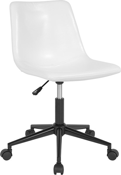 Flash Furniture Siena White Leather Task Chair FLF-DS-530A-WH-GG