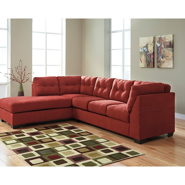 Flash Furniture Maier Sienna Microfiber L Sectional FLF-FBC-2349LFSEC-SEN-GG