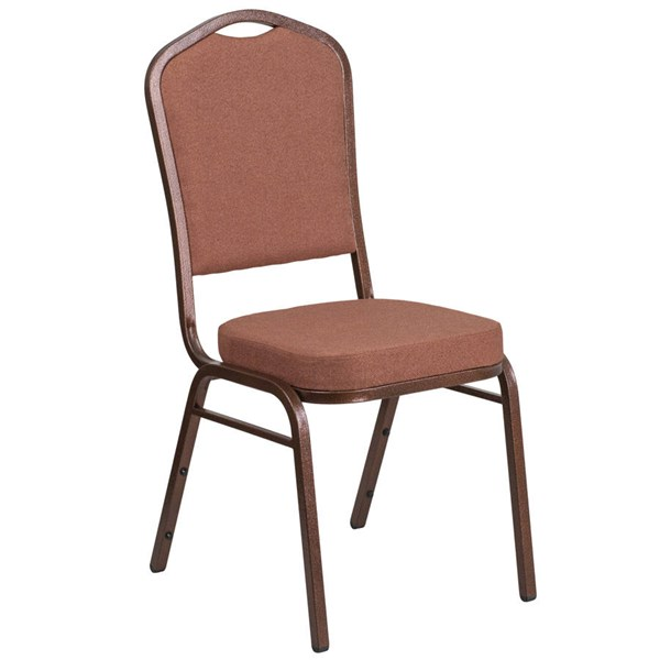 Flash Furniture Hercules Brown Stacking Banquet Chair FLF-FD-C01-COP-1-GG