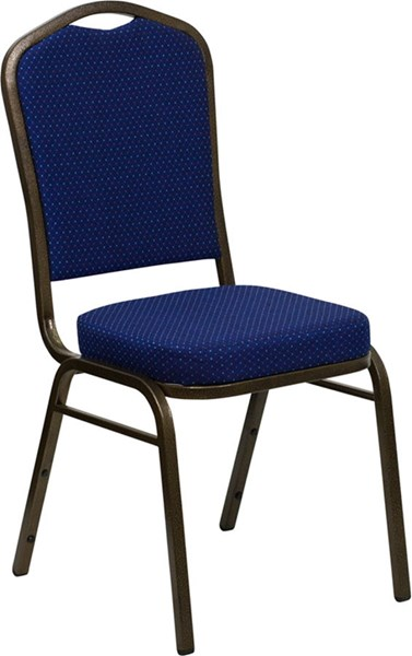 Hercules Series Blue Goldvein Fabric Metal Plastic Banquet Chair FLF-FD-C01-GOLDVEIN-208-GG