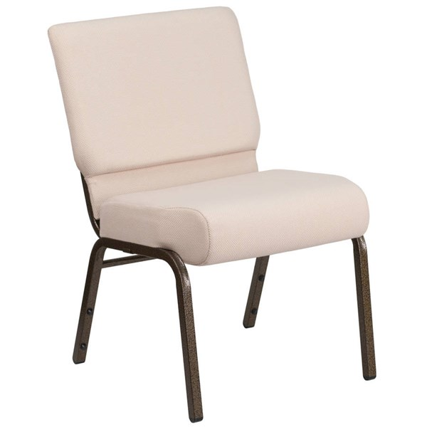 Flash Furniture Hercules Gold Vein Frame Stacking Church Chairs FLF-FD-CH0221-4-GV-OFF-CH-VAR