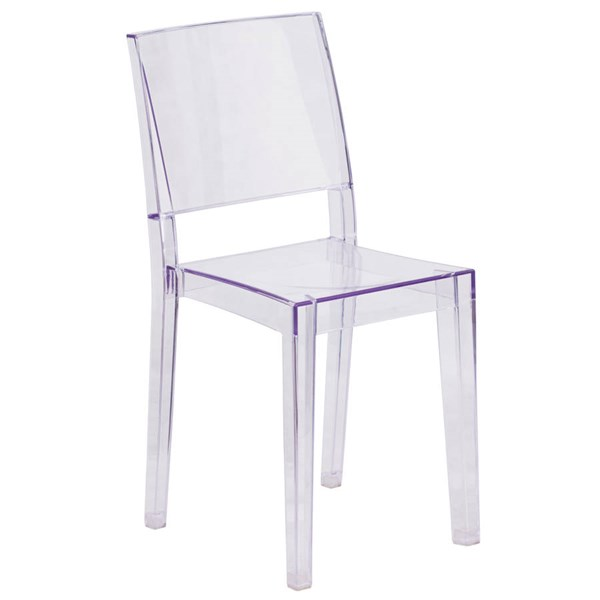 Flash Furniture Phantom Transparent Stacking Side Chair FLF-FH-121-APC-GG