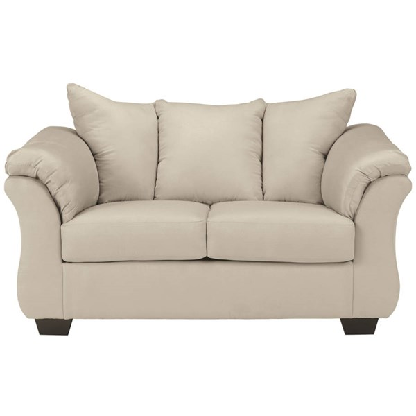Flash Furniture Darcy Stone Microfiber Loveseat FLF-FSD-1109LS-STO-GG