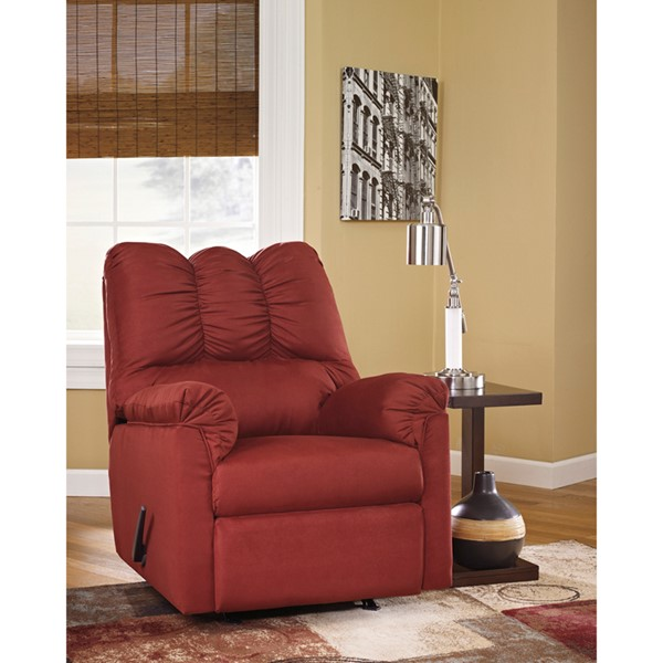Flash Furniture Darcy Salsa Microfiber Recliner FLF-FSD-1109REC-RED-GG
