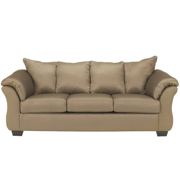 Flash Furniture Darcy Mocha Microfiber Sofa FLF-FSD-1109SO-MOC-GG