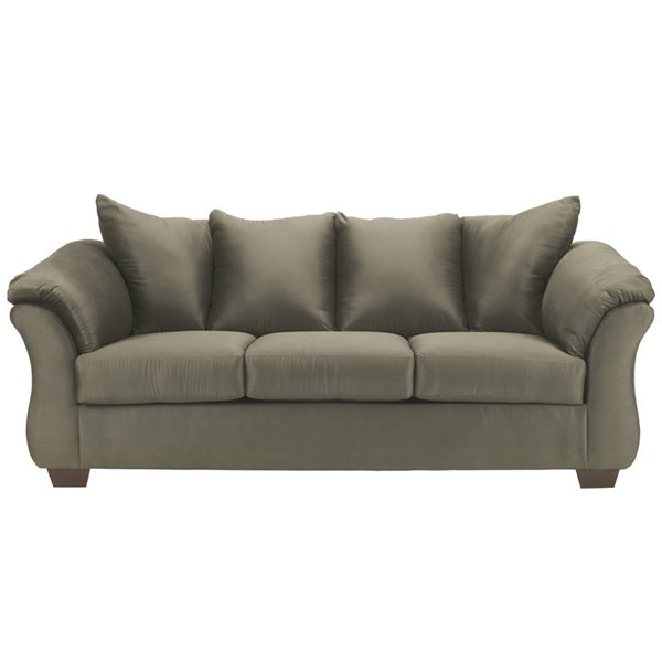Flash Furniture Darcy Sage Microfiber Sofa FLF-FSD-1109SO-SAG-GG