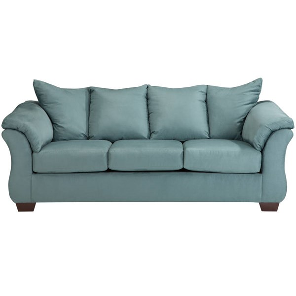 Flash Furniture Darcy Sky Microfiber Sofa FLF-FSD-1109SO-SKY-GG