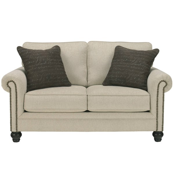 Flash Furniture Milari Linen Loveseat FLF-FSD-1309LS-LIN-GG