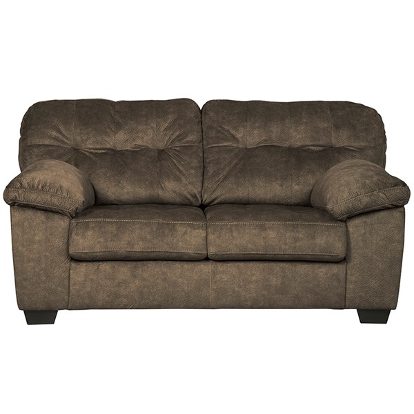 Flash Furniture Accrington Earth Microfiber Loveseat FLF-FSD-1339LS-ERT-GG