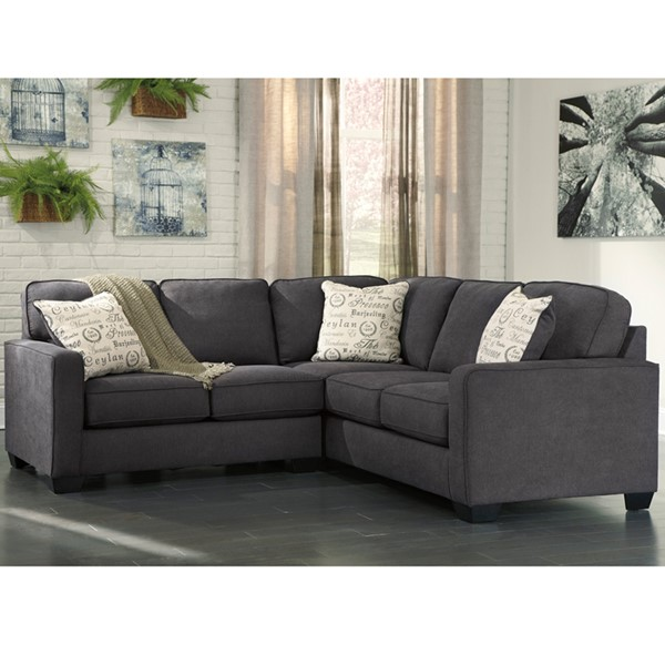 Flash Furniture Alenya Microfiber 2pc Sectionals FLF-FSD1669SEC-2PCGGSEC-V4