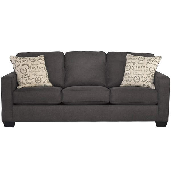 Flash Furniture Alenya Charcoal Microfiber Sofa FLF-FSD-1669SO-CH-GG