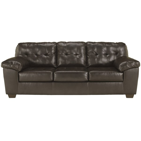 Flash Furniture Alliston Chocolate DuraBlend Sofa FLF-FSD-2399SOF-CHO-GG
