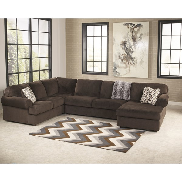 Flash Furniture Jessa Place Fabric U Sectional FLF-FSD-6049SEC-GG-SEC-VAR