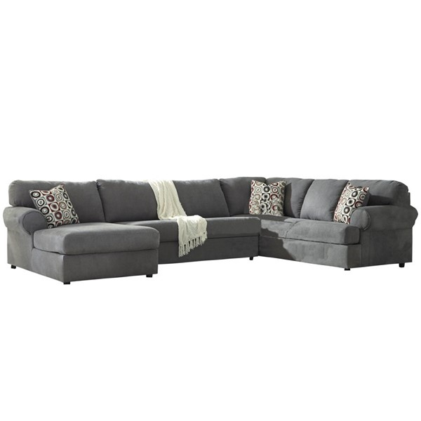 Flash Furniture Jayceon Fabric RAF U Sectional FLF-FSD-6499SEC-3RAFS-STL-GG