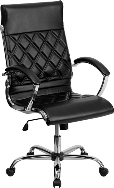 Flash Furniture High Back Designer Leather Executive Swivel Office Chairs FLF-GO-1297H-HIGH-GG-OFF-CH-VAR
