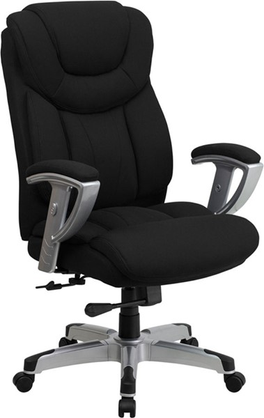 Flash Furniture Herucles Big and Tall Black Fabric Office Chair FLF-GO-1534-BK-FAB-GG