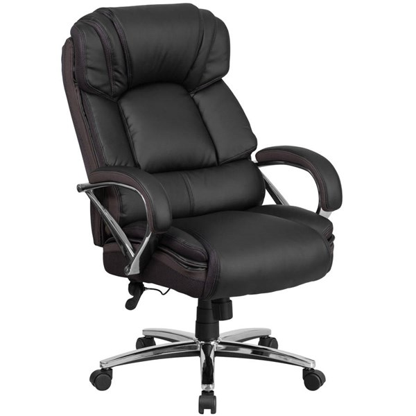 Flash Furniture Hercules Black Executive Swivel Chair with Arms FLF-GO-2222-GG