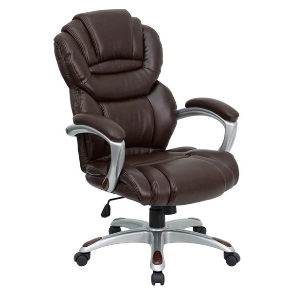 Flash Furniture High Back Brown Executive Office Chair FLF-GO-901-BN-GG