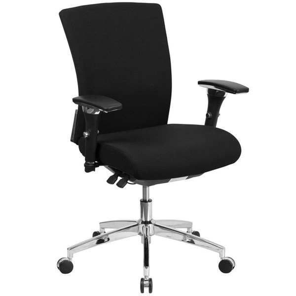 Flash Furniture Hercules Black Executive Swivel Chair with Seat Slider FLF-GO-WY-85-6-GG