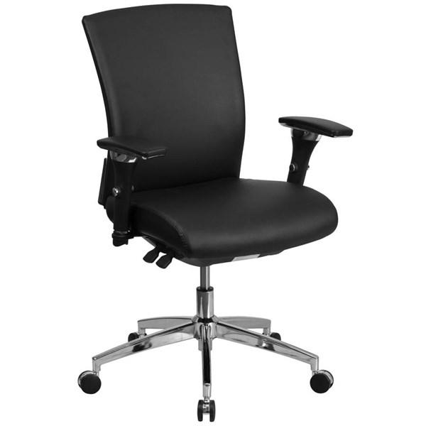 Flash Furniture Hercules Black Seat Slider Executive Swivel Chair FLF-GO-WY-85-7-GG
