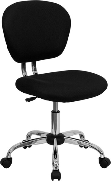 Flash Furniture Black Mesh Adjustable Height Task Chair FLF-H-2376-F-BK-GG