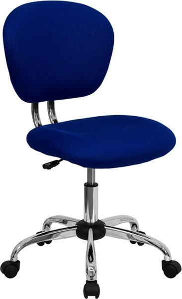 Flash Furniture Blue Mesh Adjustable Height Task Chair FLF-H-2376-F-BLUE-GG